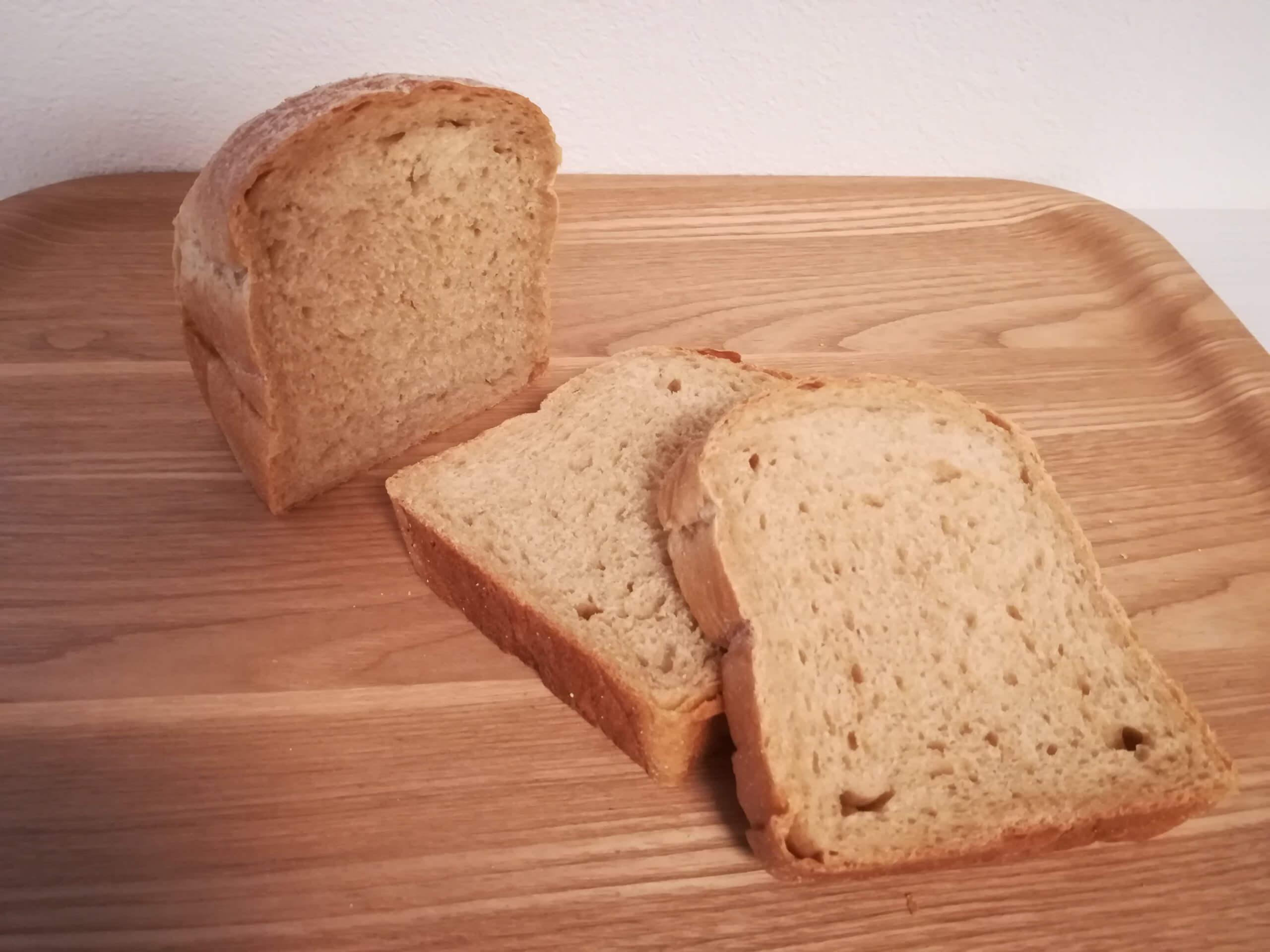 泉北堂の黒糖食パン
