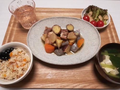 煮物、炊き込みご飯