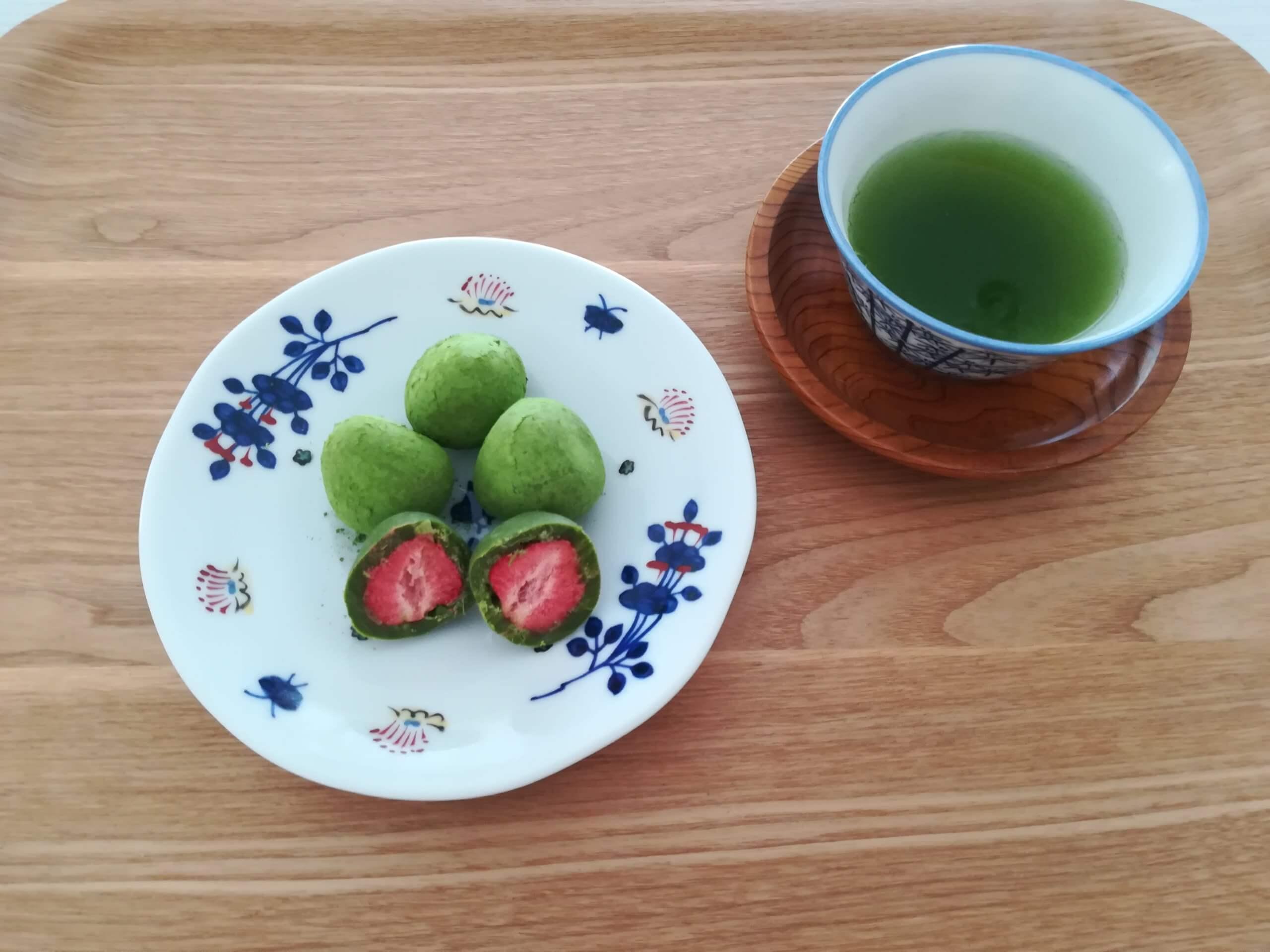 宇治抹茶苺とりゅふ