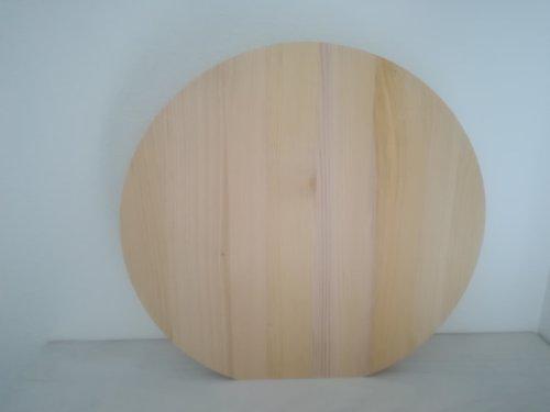 青森ヒバの丸まな板