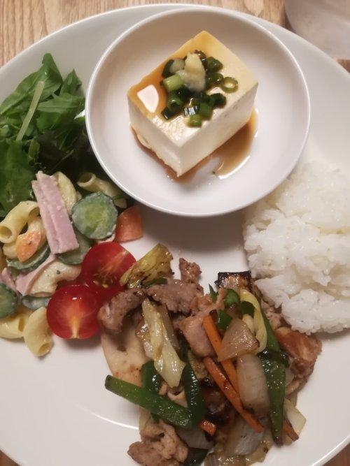 野菜炒めプレート