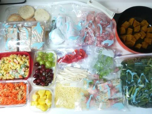 食材保存や作り置き