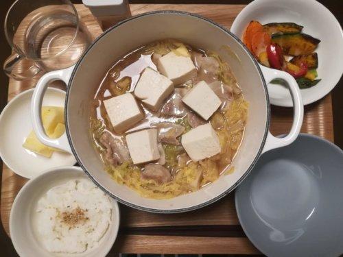 白菜と豚肉煮
