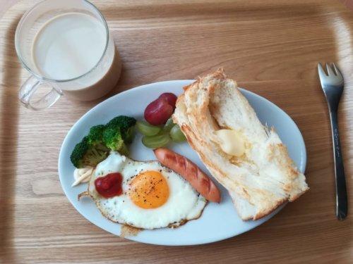 ひとり暮らしの朝食