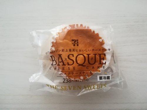 セブンイレブンのバスクチーズケーキ