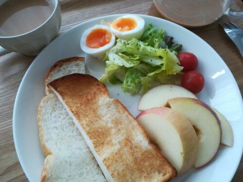 朝ごはんプレート