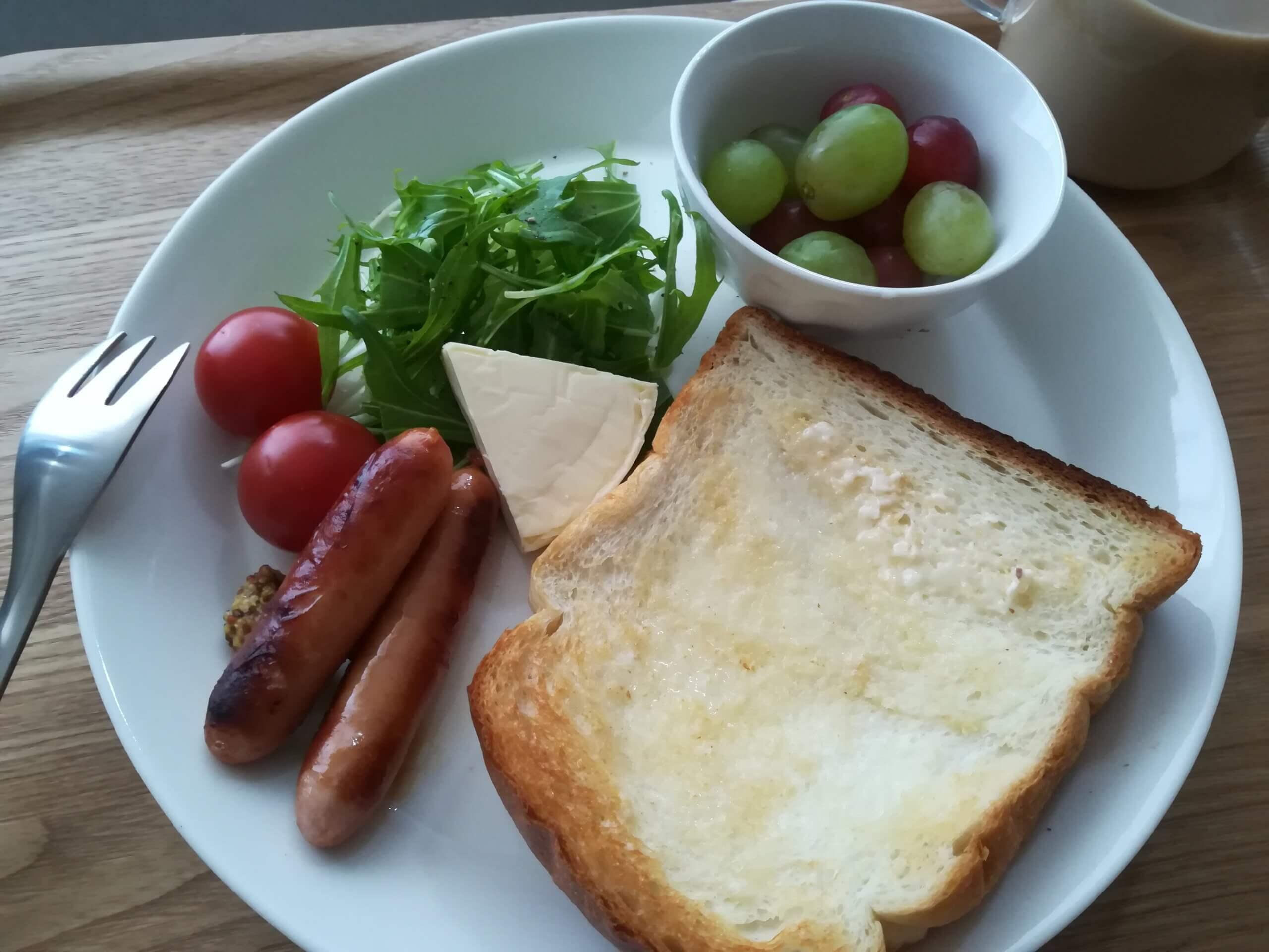 最後の一枚「ベークハウスメールの食パン」/讃岐うどん