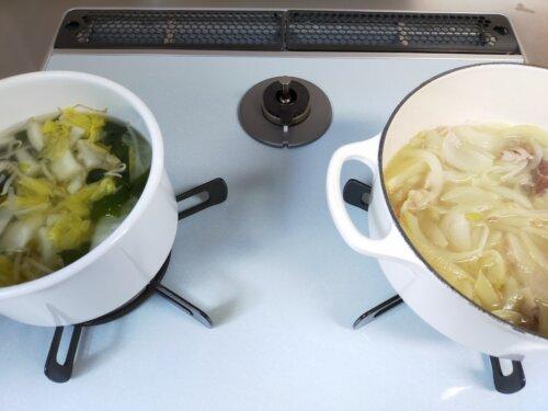 夕飯の下準備
