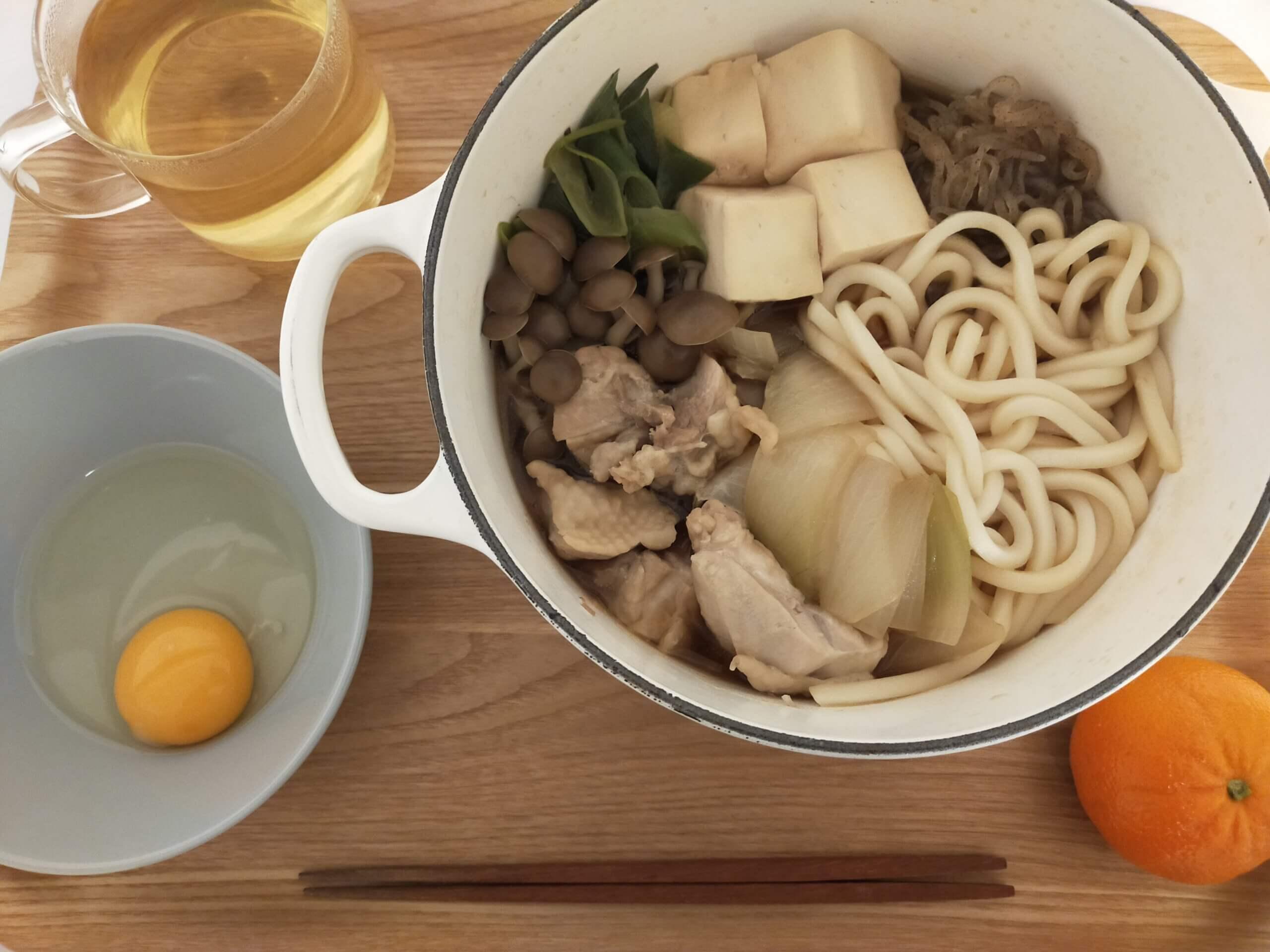 イオン・トップバリュの山型食パン/鶏肉のすき焼き