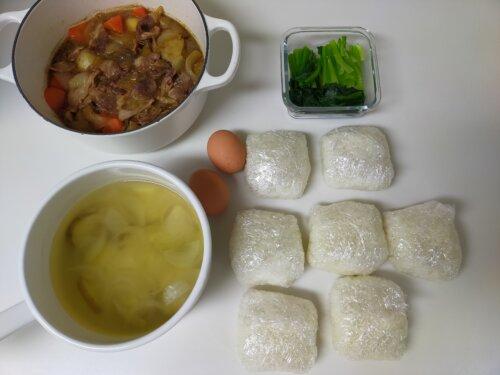 食事の準備