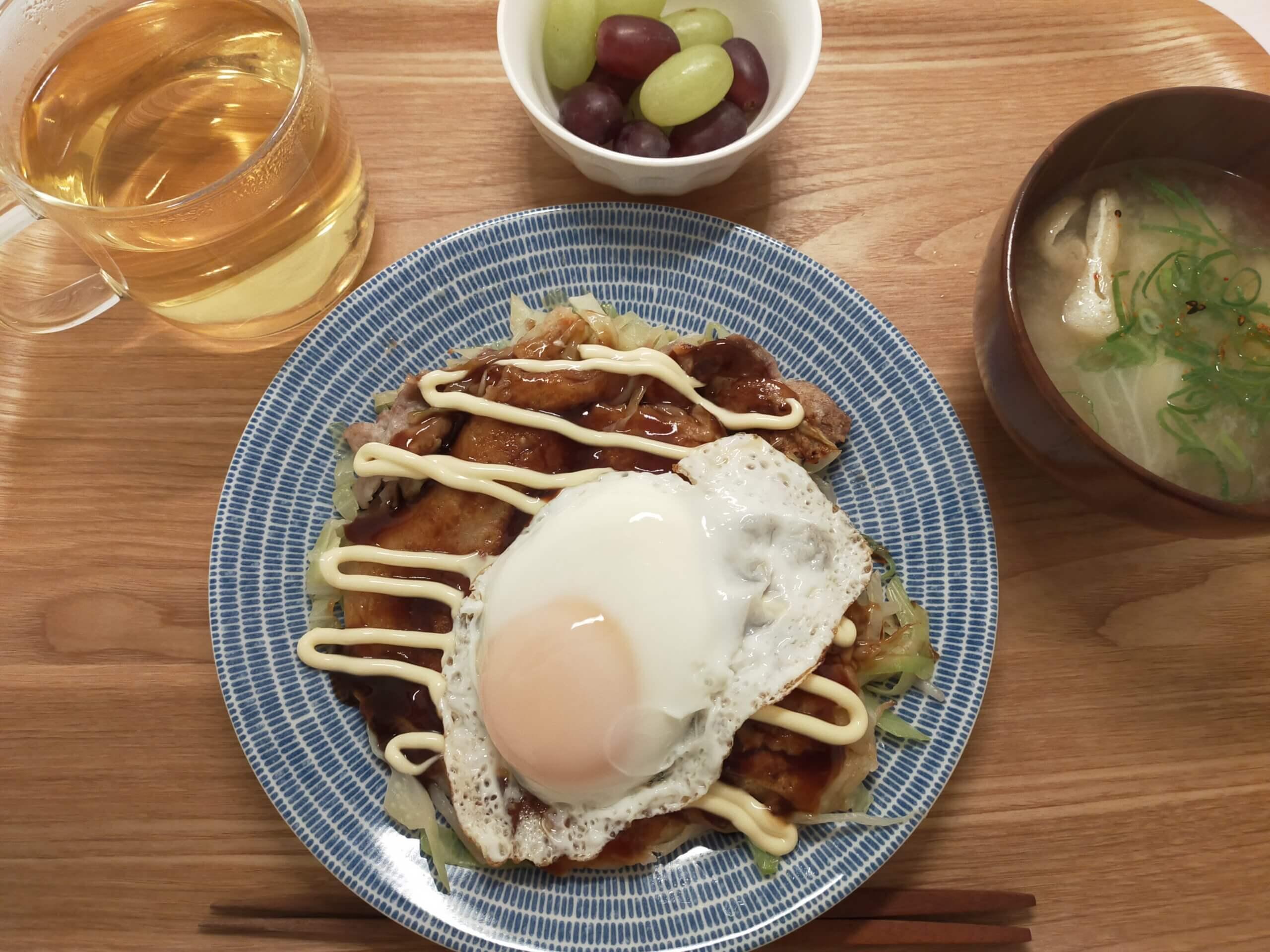 朝から夜ごはんの下ごしらえ/たまごパン/広島焼き/ゲームオブスローンズ