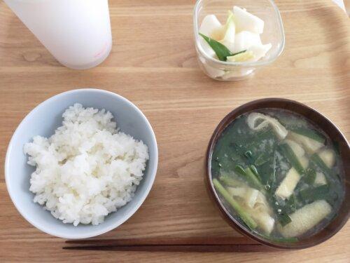一人暮らしの昼ご飯