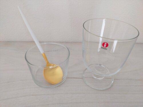 グラスとクチポール